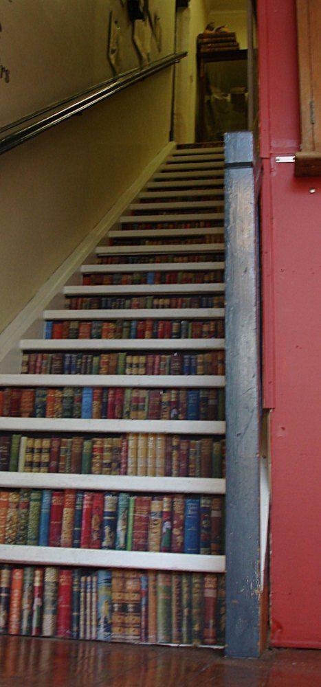 Escalera-libros